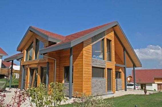 Maison bois par Myotte Duquet Maison bois Pinterest