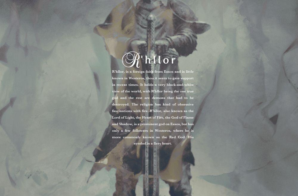 religions of westeros: r'hllor #got #agot #asoiaf