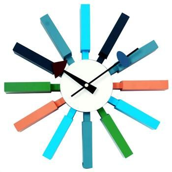 Zuo Modern - Applegate Funky Wall Clock Tick Tock Goes The Clock - küchen wanduhren shop