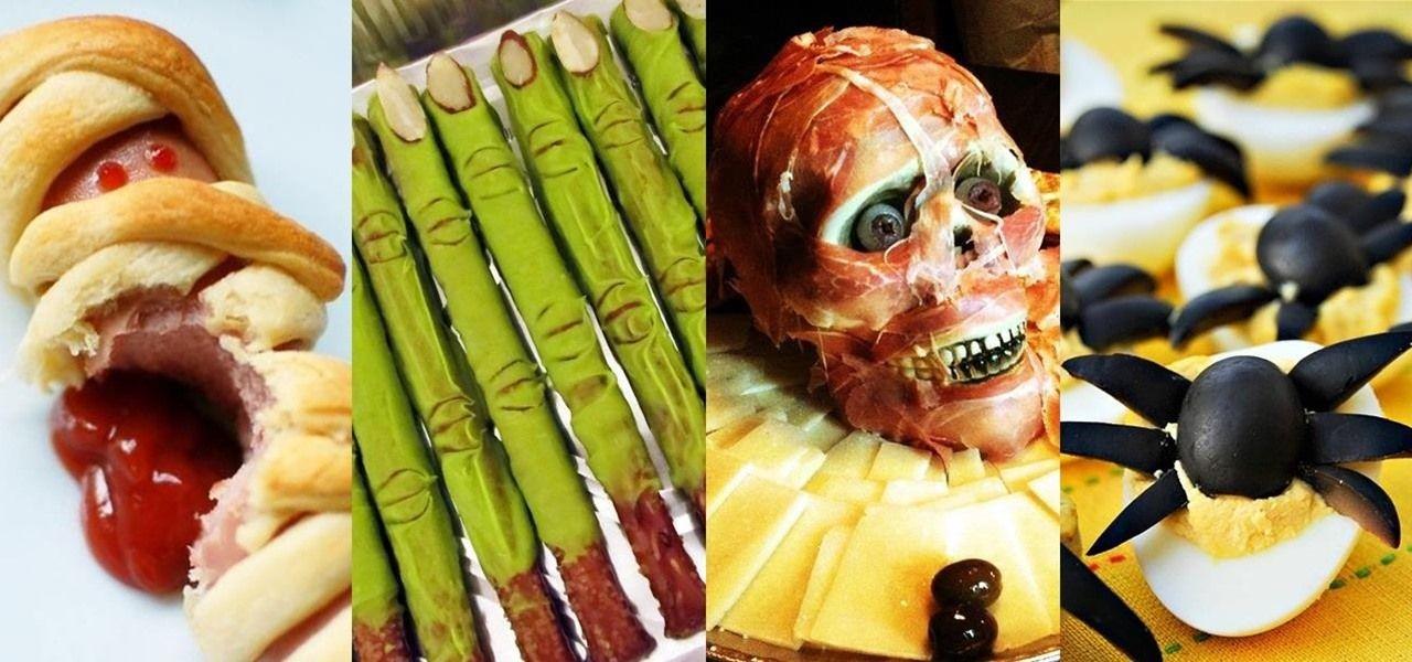 Halloween Food Hacks Easy Spooktacular Hors D'Oeuvres