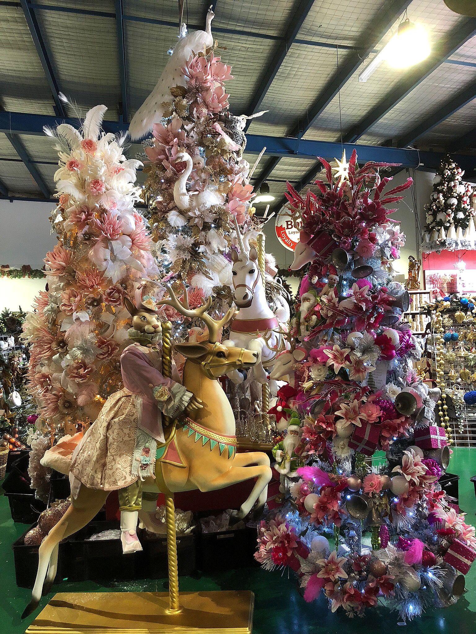 Fairytale Christmas Decorations.Fairytale Christmas Carousel Christmas Trees Christmas