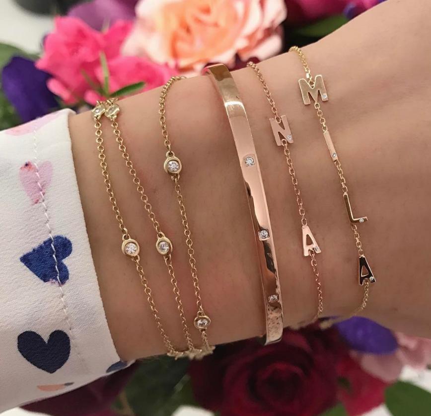 gift for her BROWN leather FLORAL BRACELET for women flower bracelet fashion jewelry womens gift Rose bracelet beaded bracelet