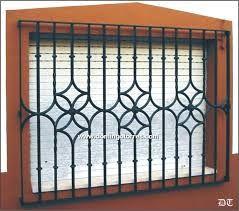 16 Rejas metalicas para ventanas modernas