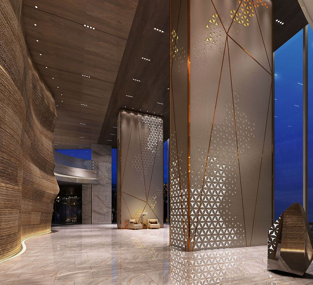Hotel Exterior Design Architecture Affordable Ideas Modern: Hotel Lobby Design