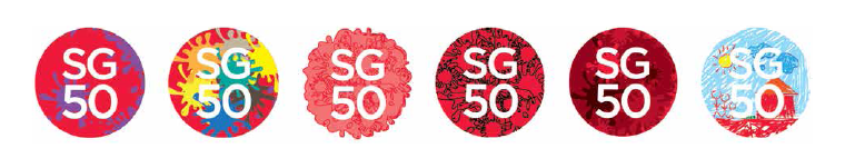 font used for sg50 logo Google Search Logo google