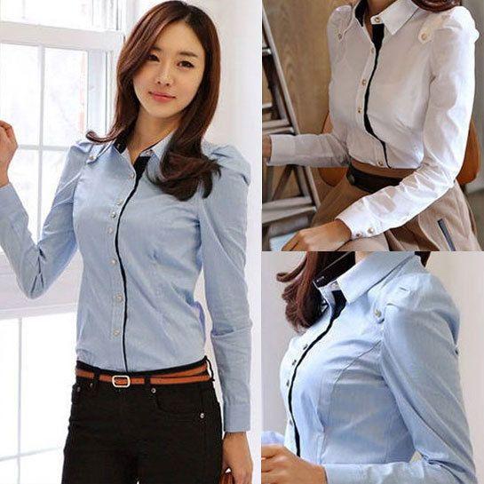 1e96d48cc O envio gratuito de 2014 Outono nova camisa Dudalina feminina camisa moda  casual mulheres encabeça bonito mangas longas elegantes blusas gipsy-in  Blusas e ...