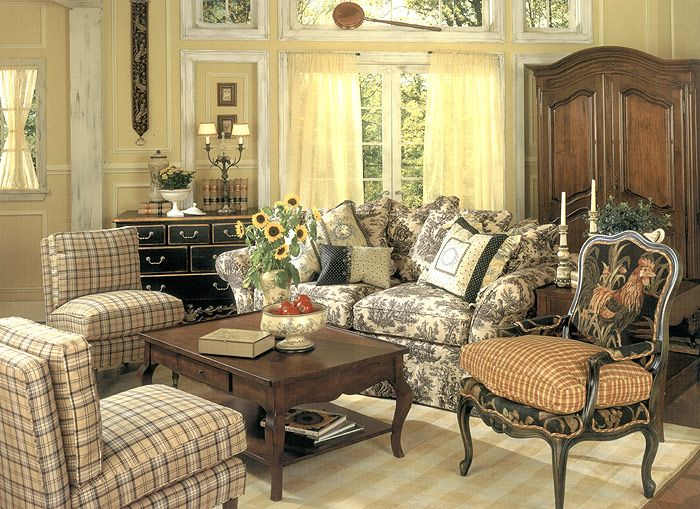 remarkable french country living room furniture | country french living rooms photos | ... Concepts Studio ...