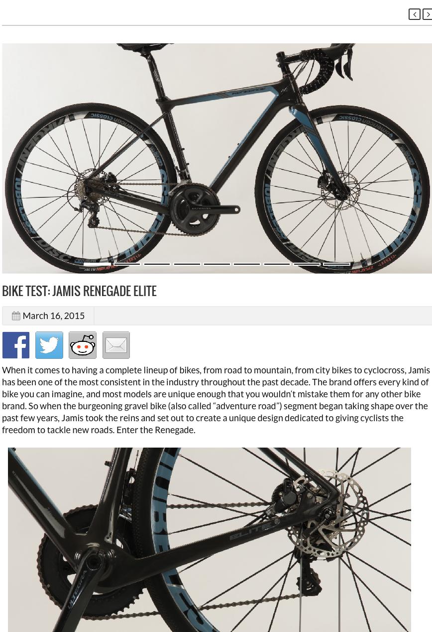 Www Rbinc Sports Com Jamis Renegade Bicycle Review Bicycle Road