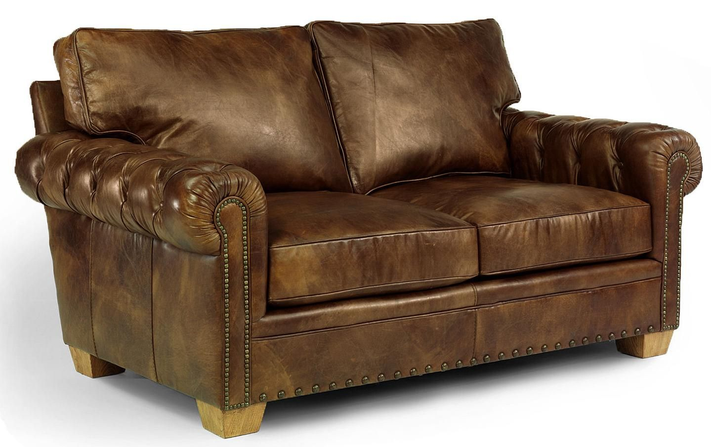 Flexsteel Furniture Latitudes Somerset Collection Featuring Loveseat Sofa And Chair With Otto Distressed Leather Sofa Leather Loveseat Brown Leather Loveseat