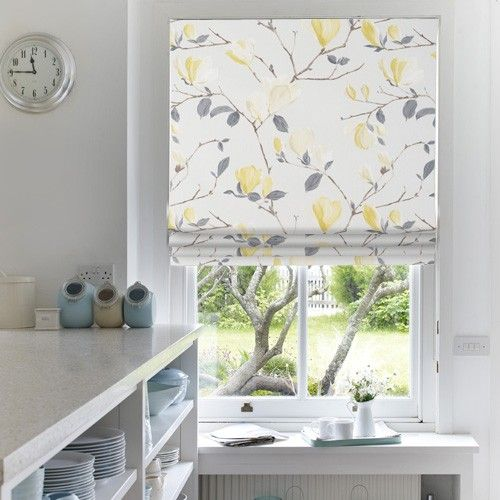 Mimosa Balls Roman Blind   Web Blinds. 50% Off At The Moment,