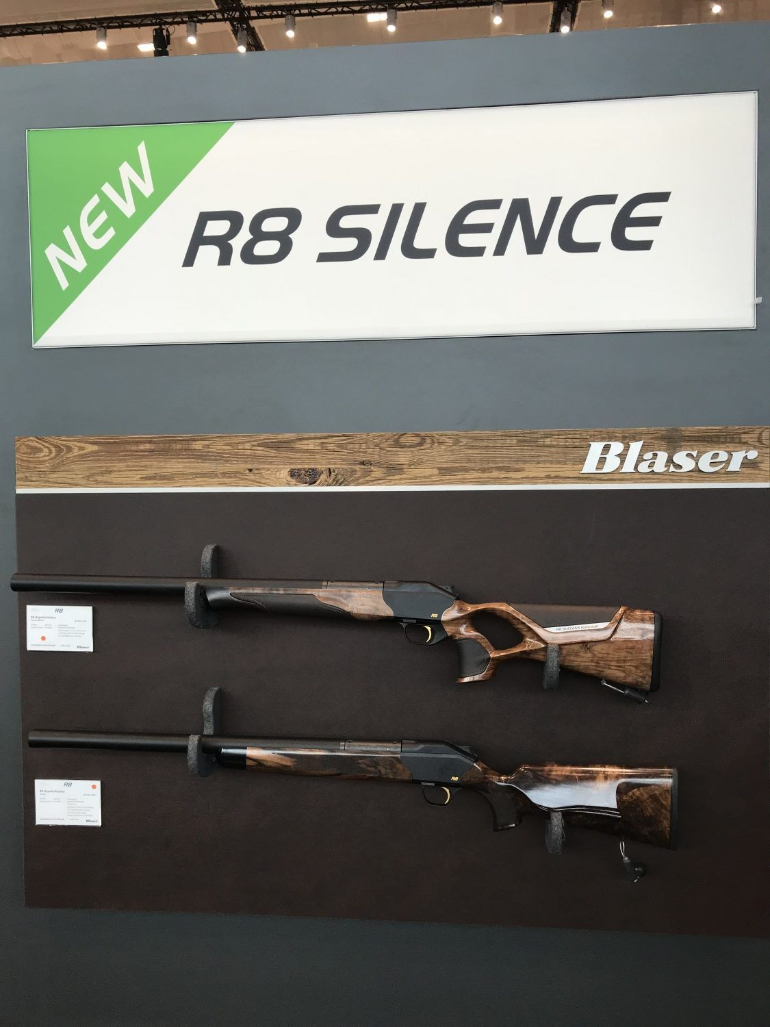 Blaser R8 Silence - with integrated Suppressor - The Firearm