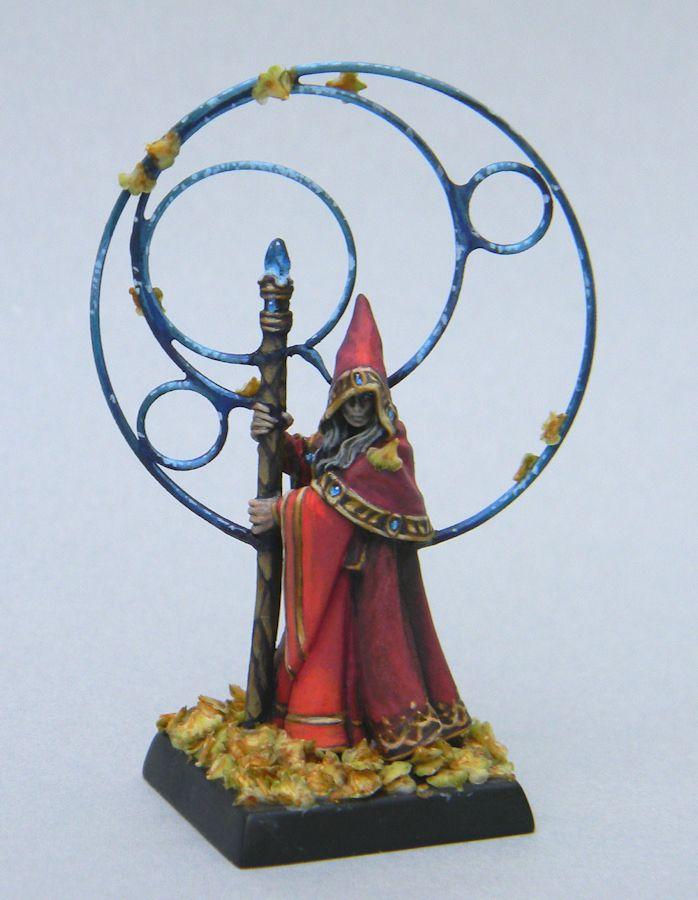 Anirion Wood Elf Wizard by ~AnneCooper on deviantART