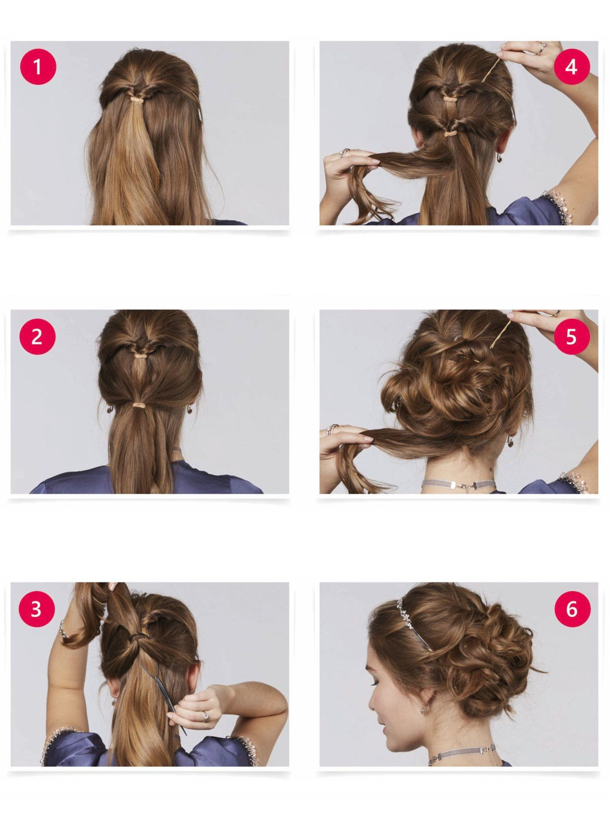 princess updo   hair styles   mittellange haare frisuren