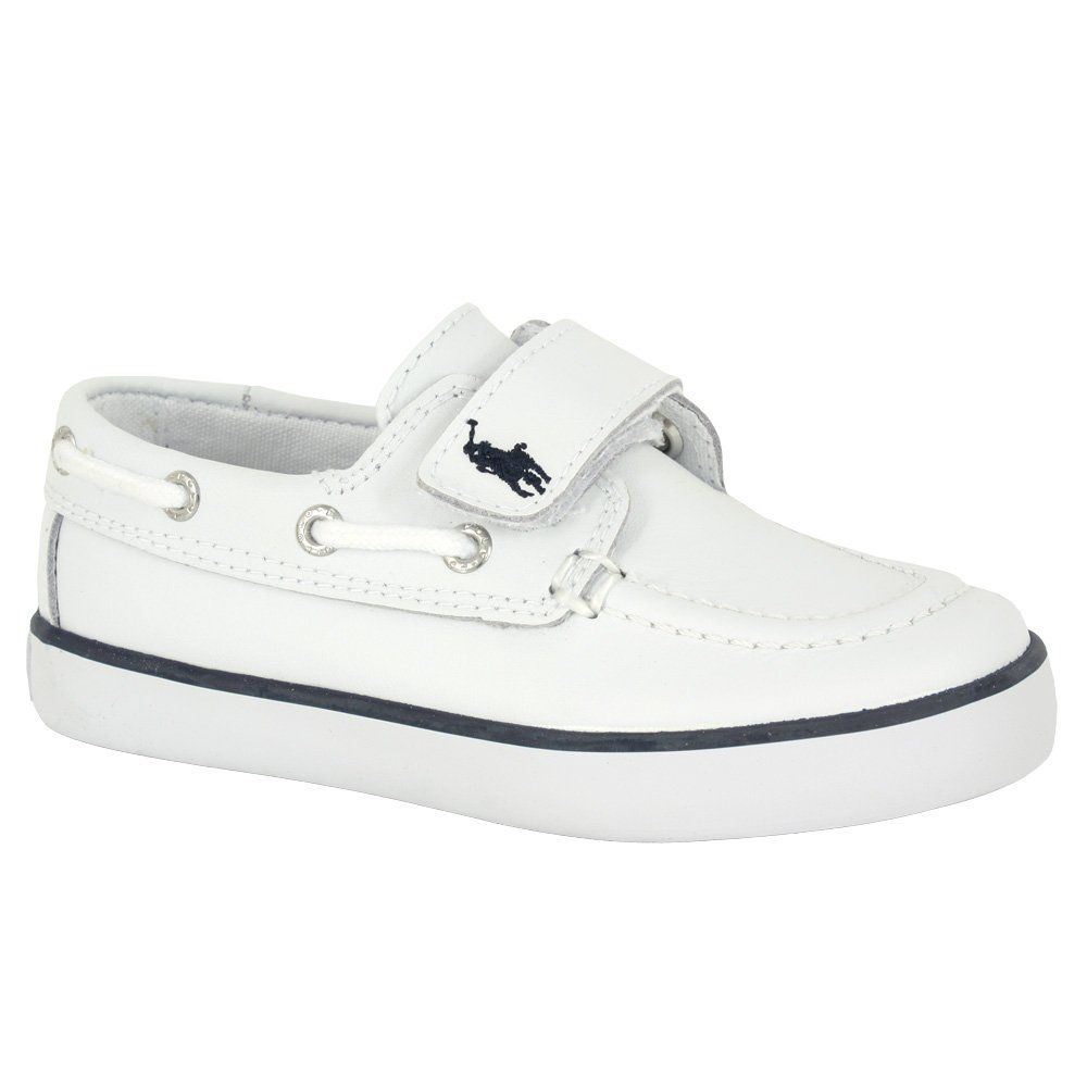 RALPH LAUREN POLO boys\u0027 leather boat shoes (sale: � to �