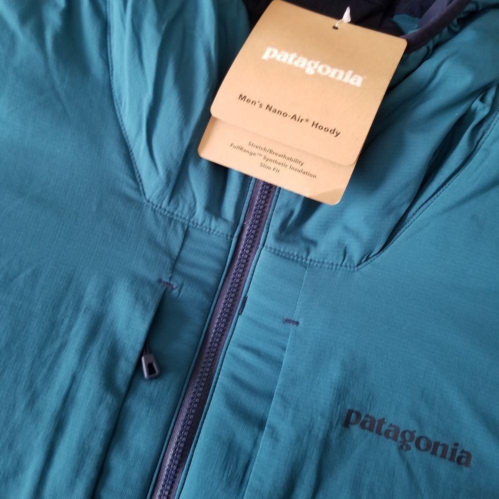 Patagonia Men's Nano Air Hoody Jacket Blue Size XXL NEW