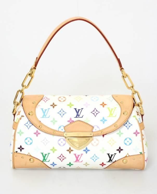 aea984f6063 Louis Vuitton Handbag (Women's Pre-owned White Monogram Multi-Color ...