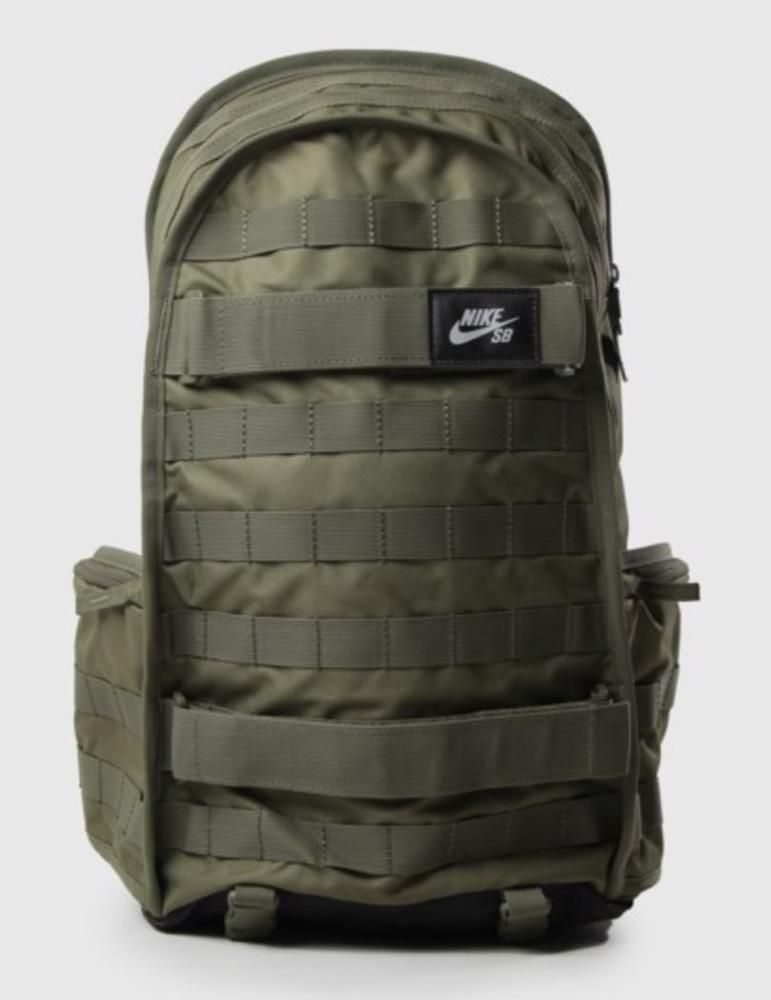 80359170bf Nike SB PRM Skateboarding Backpack BookBag Olive Black Sportstyle  BA5403-222  Nike  BackpackBookBag