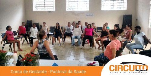 Fundo Social E Pastoral Da Saude Iniciam Turma De Gestantes