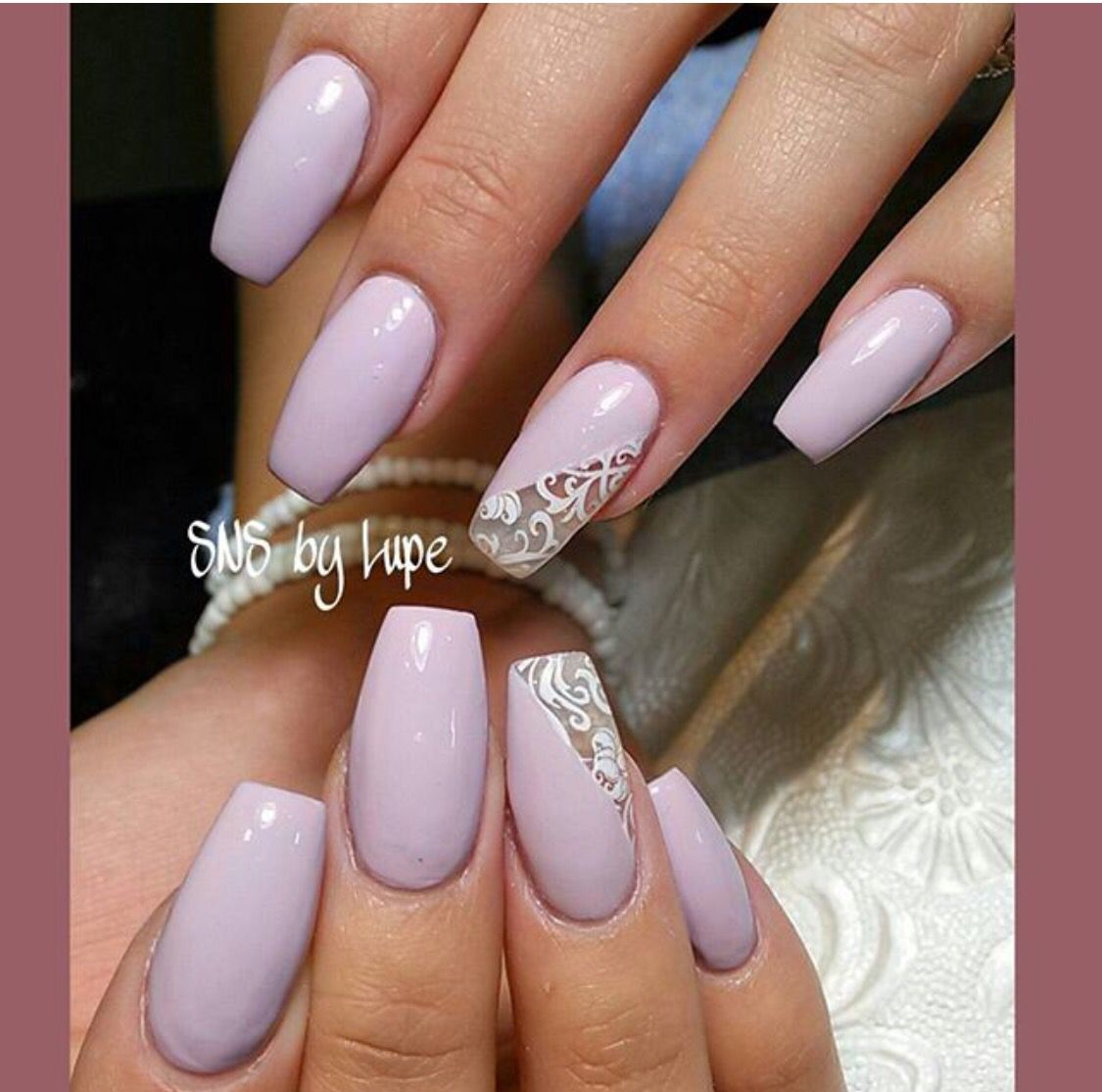 SNS nails with design by Lupe ! | SNS Nails | Pinterest | Sns nails ...