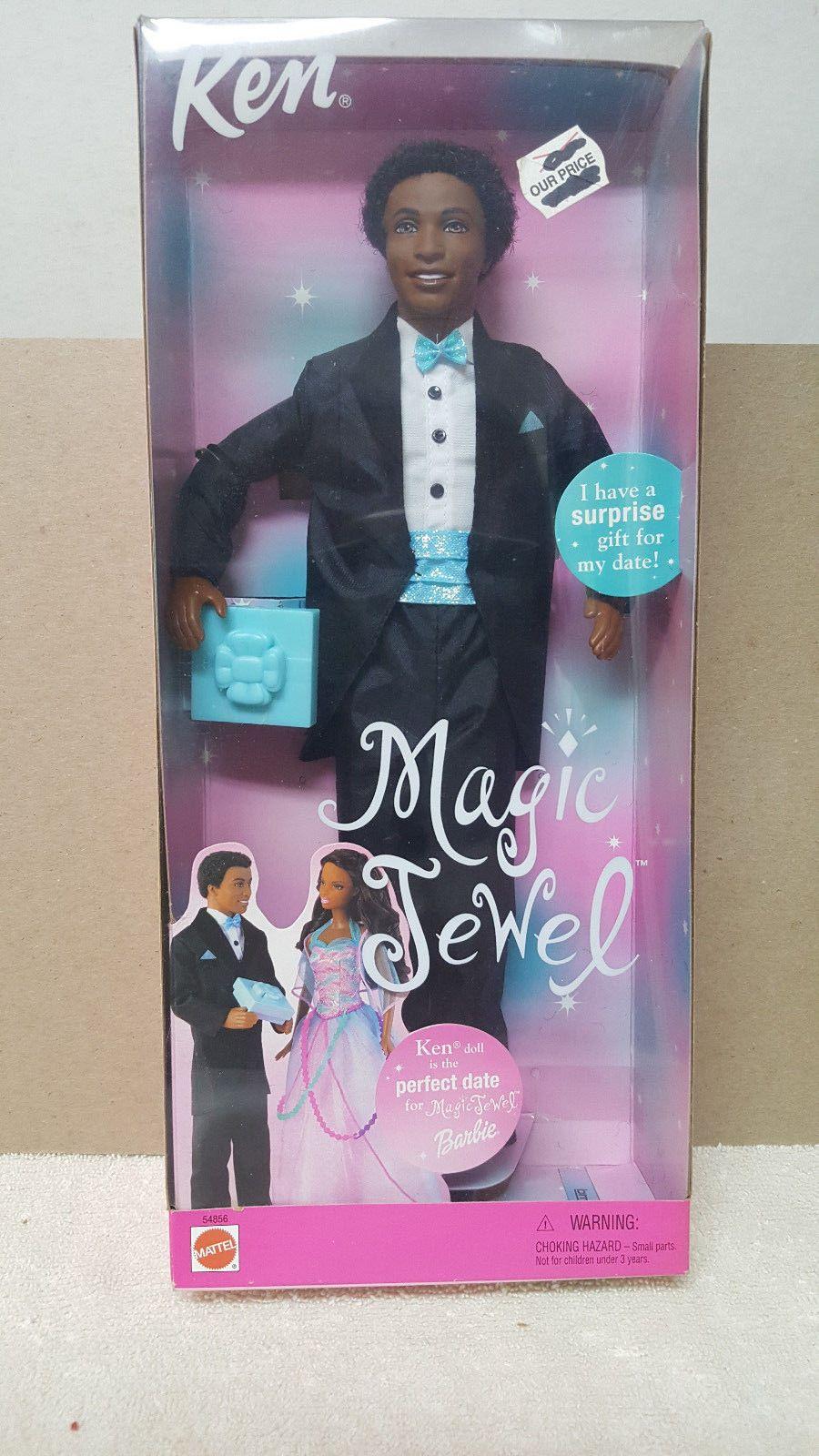 New Ken Doll 2020 Vintage magic jewel barbie african american ken doll / nrfb ~ new