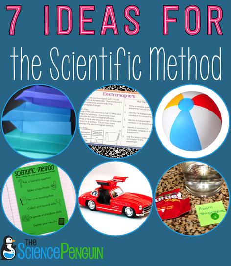 Science Physics Methods: 7 Ideas For Teaching The Scientific Method
