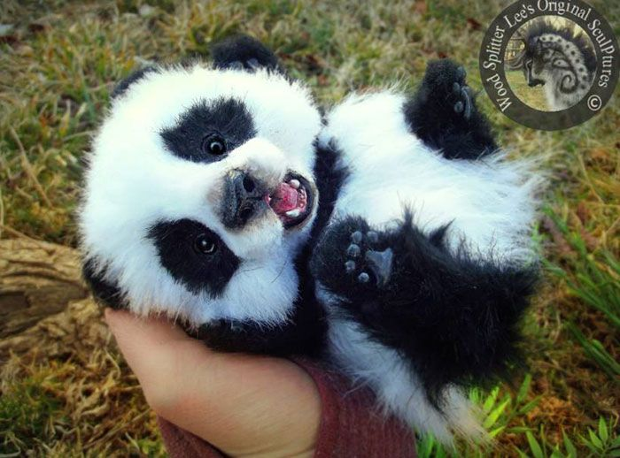 Suficiente Incredibly Realistic Baby Animal Toys By Lee Cross | Panda, Baby  VH34