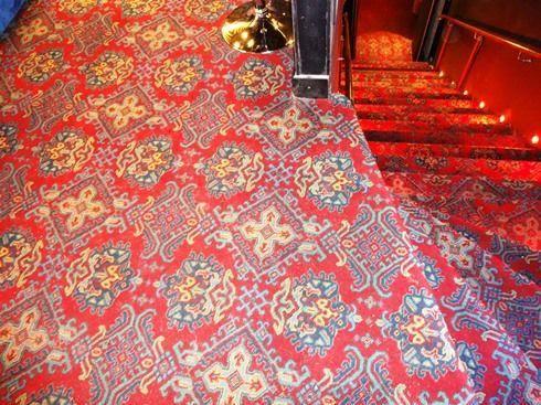 Turkey Smyrna Axminster Carpet 80 Wool And 20 Nylon Red Sheme
