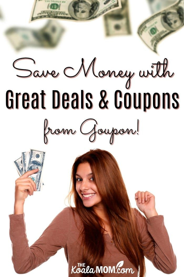 Save Money with Great Deals and Coupons from Groupon! Sign up to get great deals in your inbox weekly or browse for coupons at your favourite stores. Use coupons online or instore. #ad #coupons #dealfinder #savemoney