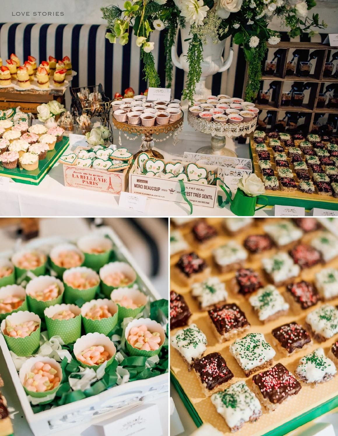 Sweet treats at a rustic wedding | The Wedding Notebook July 2015