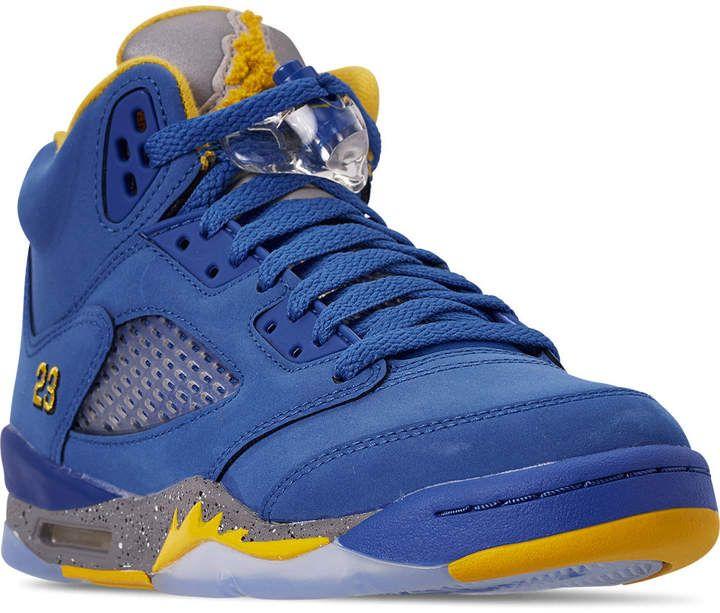 Nike Big Kids' Air Jordan Retro 5 Laney