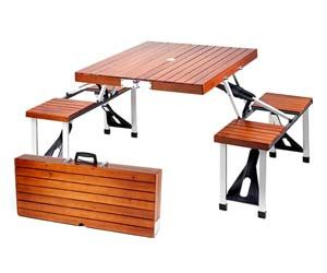 Set Up A Picnic Table Anywhere You Want With This Portable