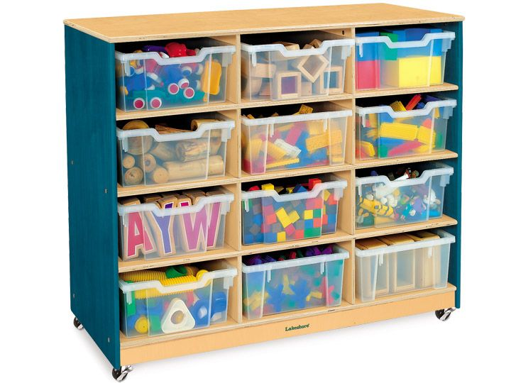 Colors Of Nature Big Bins Storage Unit 12 Cubby Lakeshore Dream Classroom Storage Bins Cubbies Cubby Bins