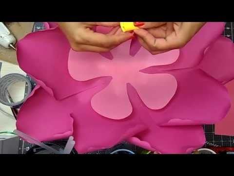 How to create paper flower this time hibiscus youtube projects how to create paper flower this time hibiscus youtube mightylinksfo
