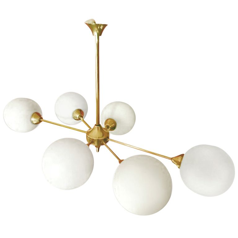 Suspension Light Fixture After Angelo Lelli France 1950 S Suspension Light Light Fixtures Light