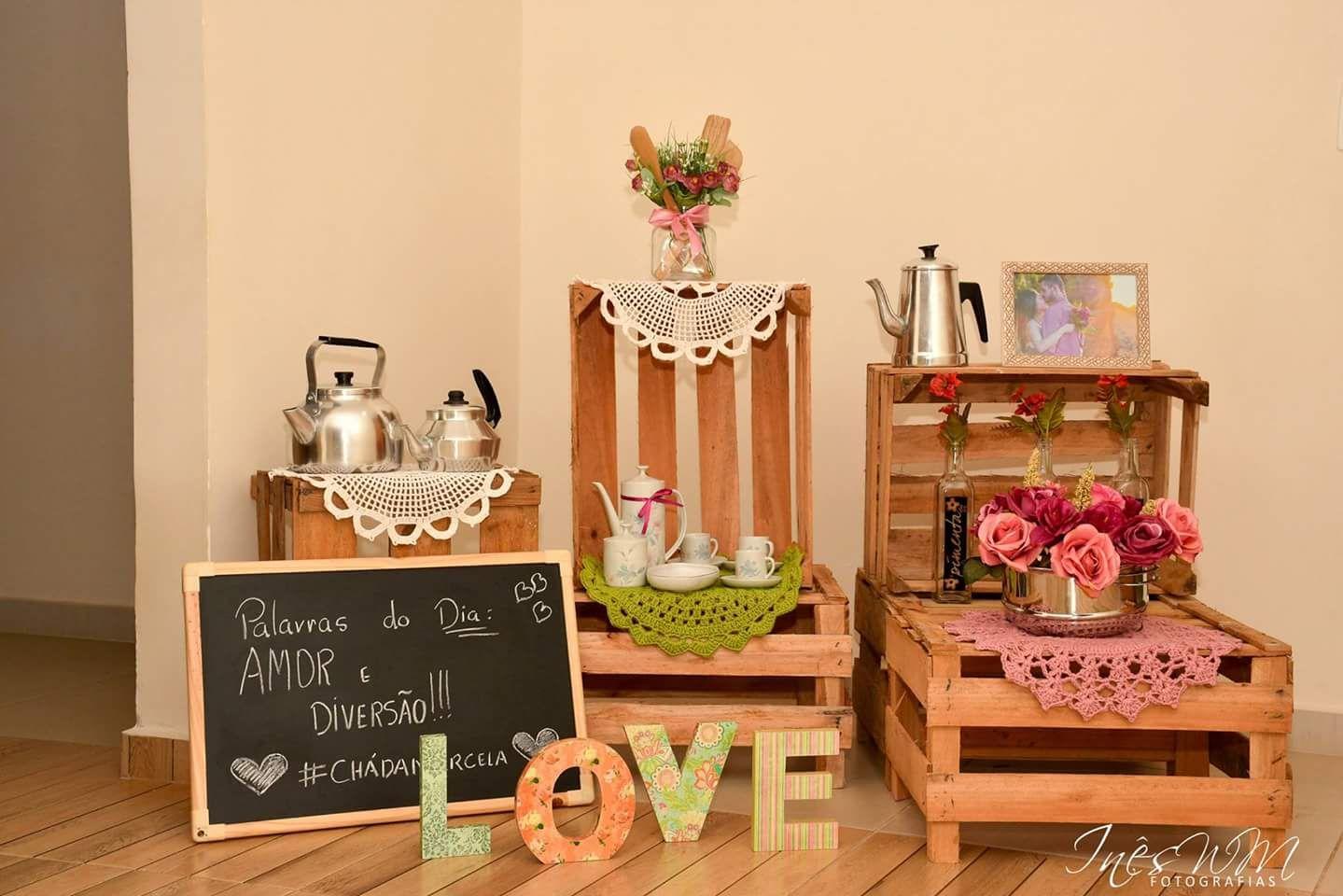 Chá de Cozinha Florido DIY da Marcela   Blog de Casamento DIY da ...
