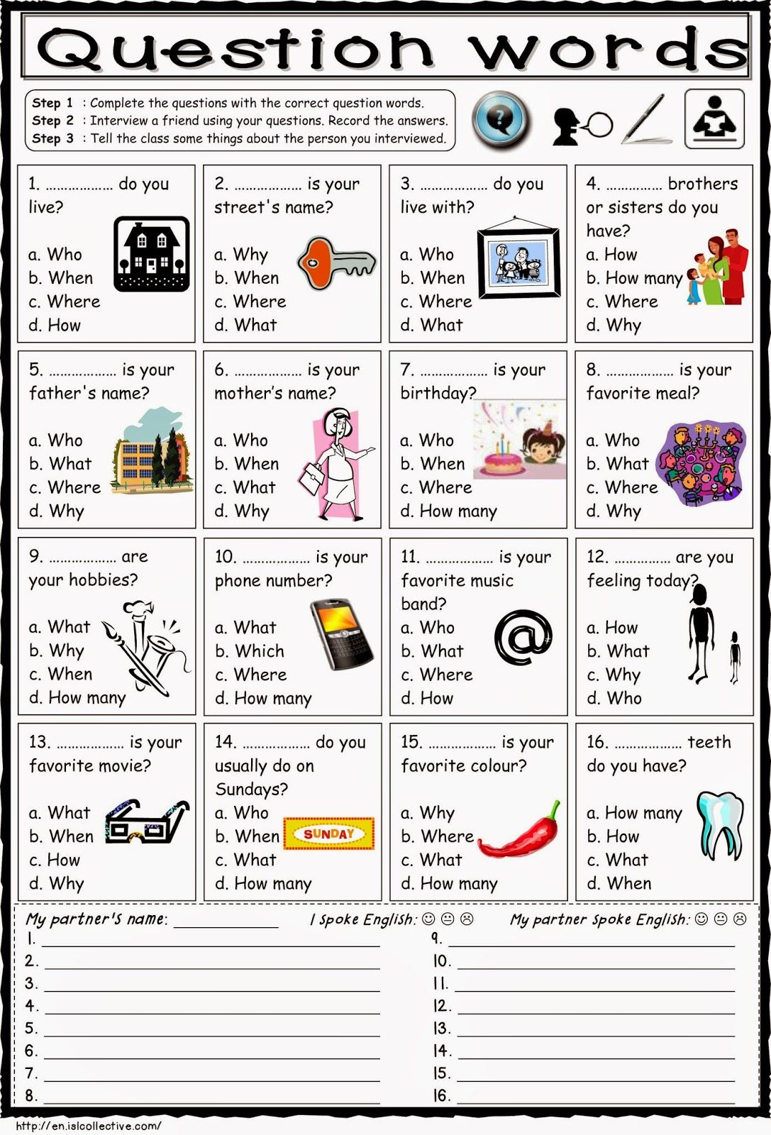 worksheet Why Questions Worksheet 17 images about english 5 grammar on pinterest student centered resources esl and vocabulary