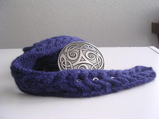Knit this awesome Boulder Belt! Free Knitting Pattern