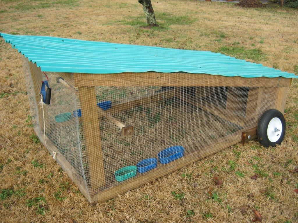 Chicken tractor plans come learn how to build you own for How to build a movable chicken coop