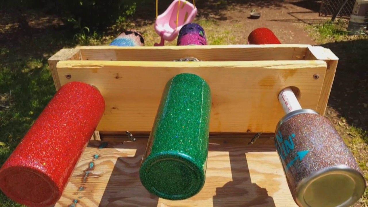 DIY Custom Glitter Tumbler Multiple Cup Turner   glass ...