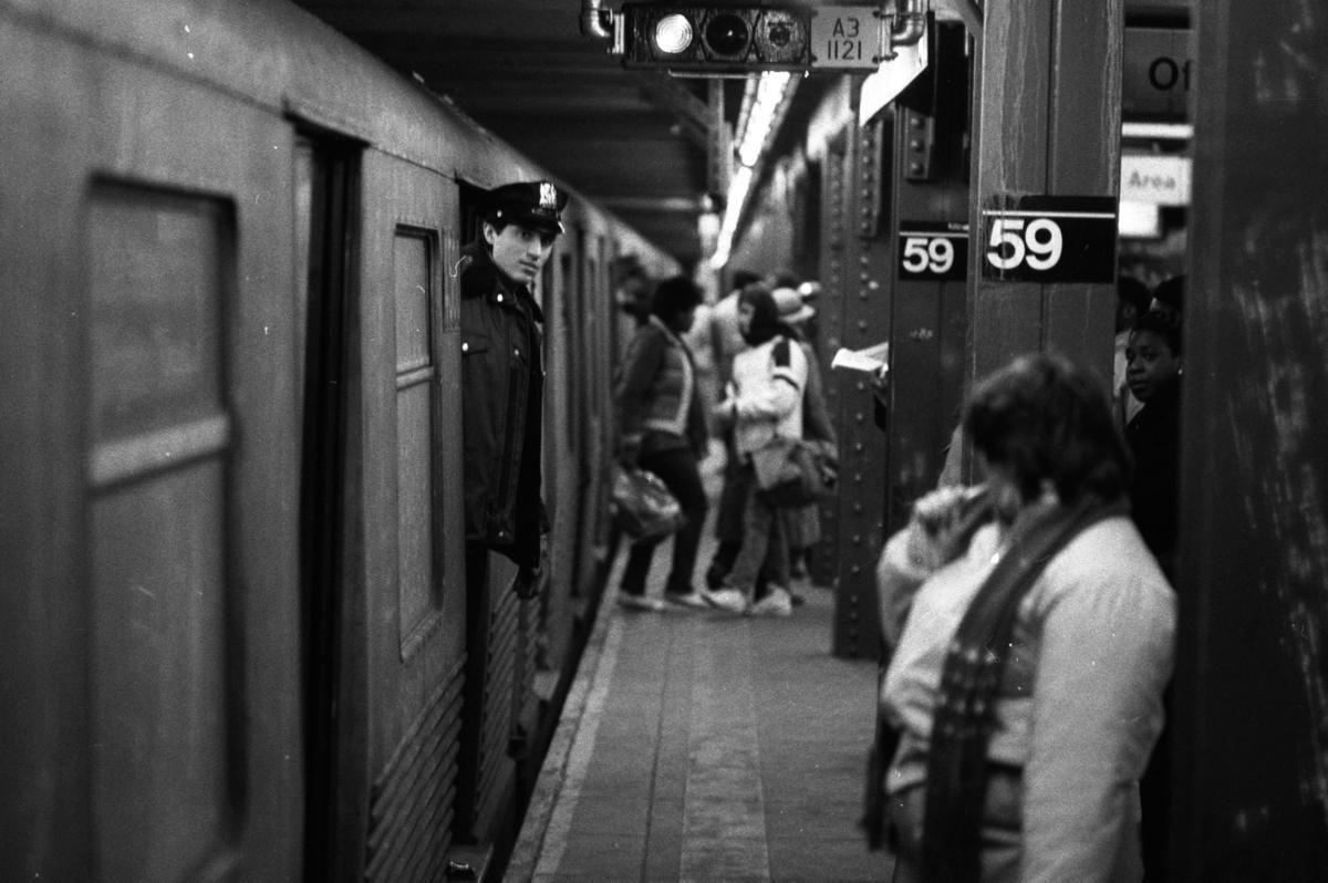 New York City subway crime 1980s Photos New York City