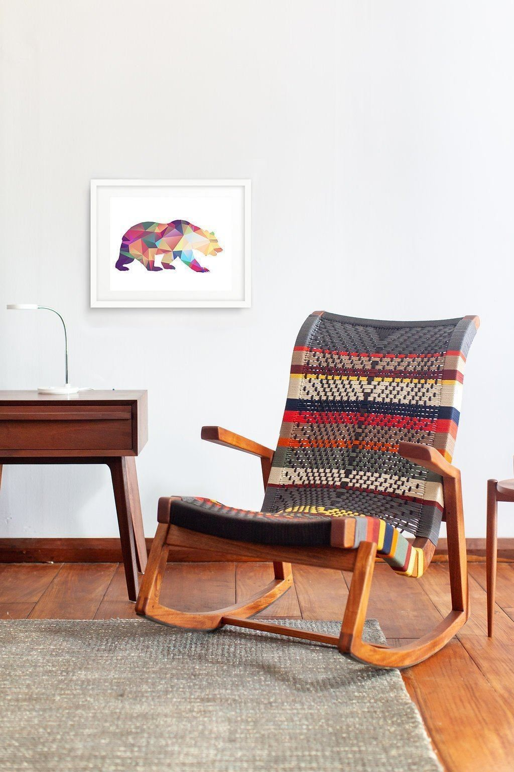 Masaya & Co. Amador Rocking Chair, San Geronimo Pattern ...