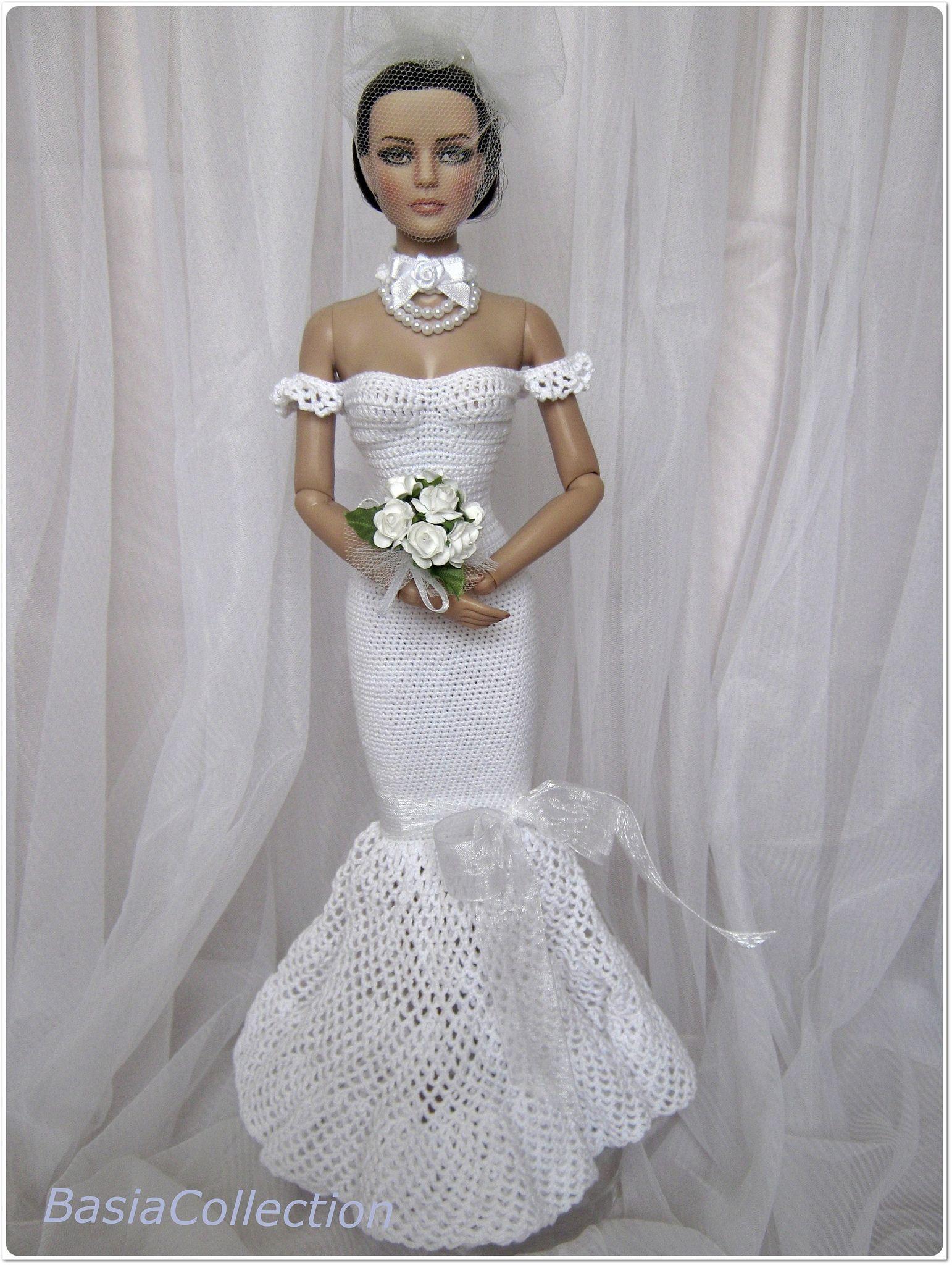 Sydney wedding dress sydney dolls and crochet