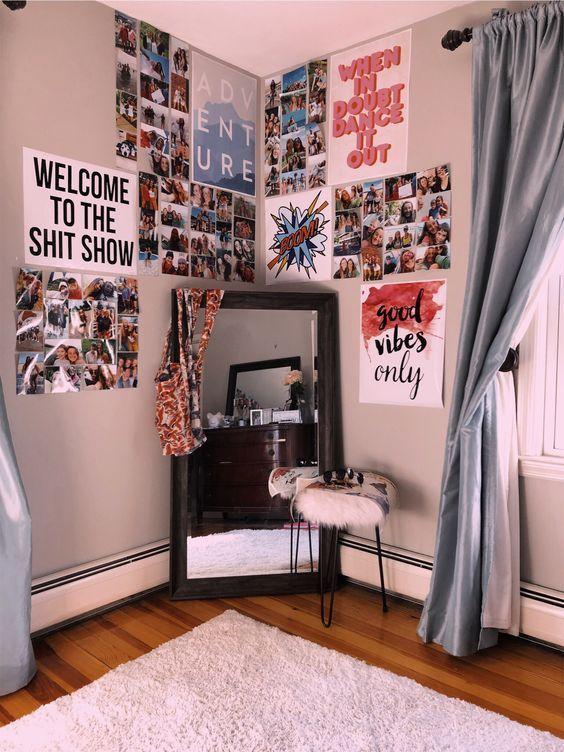 So schmücken Sie Ihr Schlafzimmer mit Spiegeln - The Hackster - #apfeldekorat... - Marry Ko. #tumblrroom