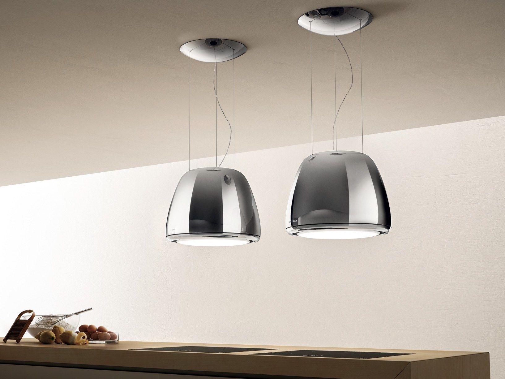 Plafoniere Per Cappe Da Cucina : Cappa luminosa seashell di elica kitchen home kitchens