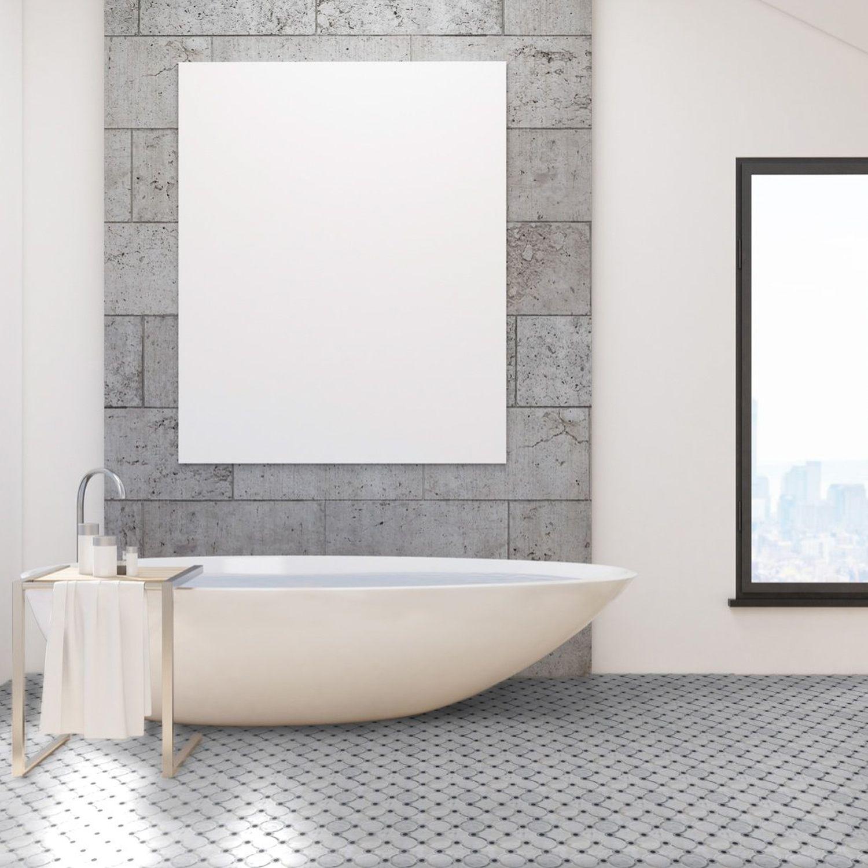 Highland Sandriff Carrara Blend Marble Tile In 2020 Polished Marble Tiles Grey Mosaic Tiles Honed Marble Tiles