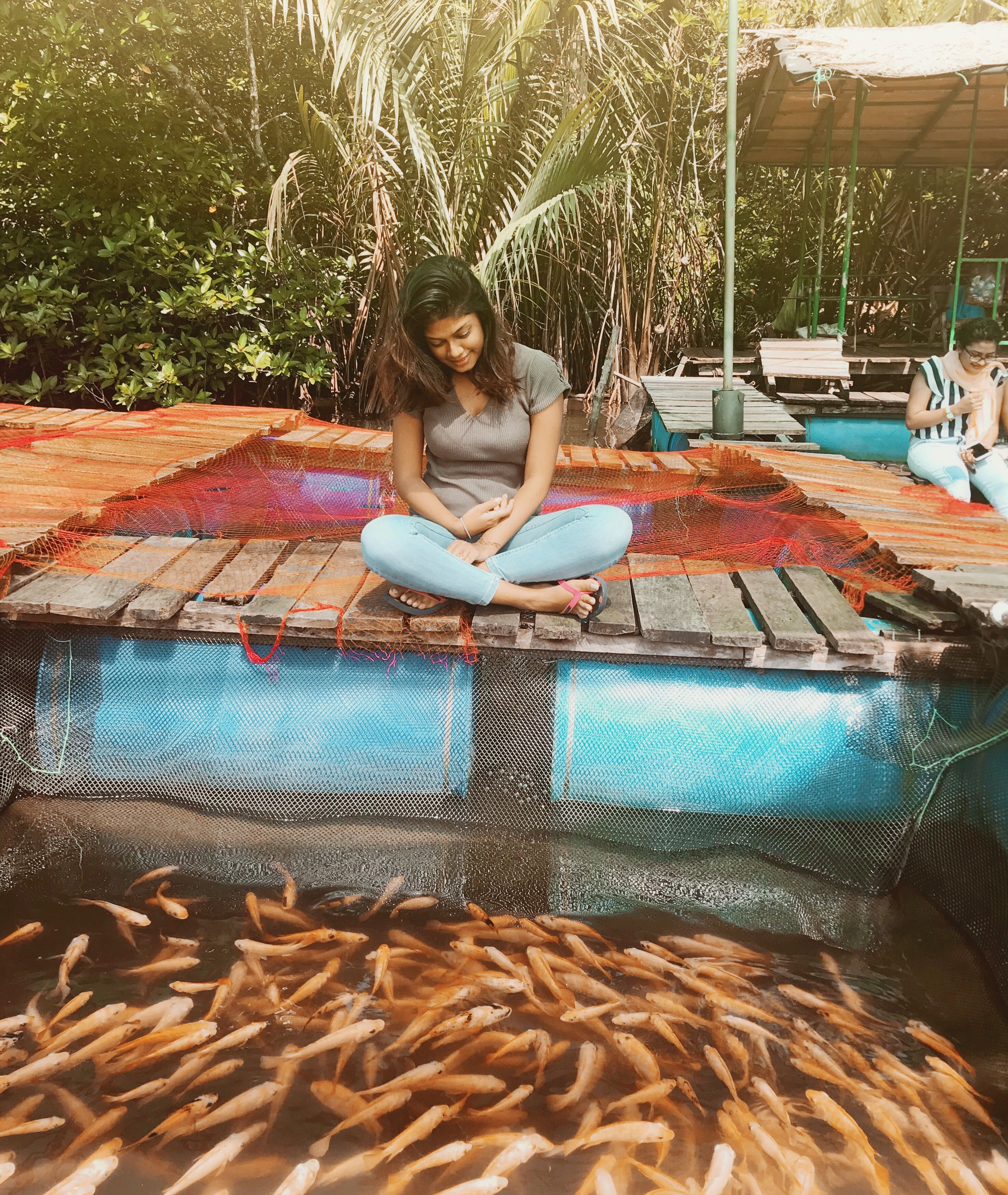 Madu River Sri Lanka Fish therapy Outdoor bed, Outdoor