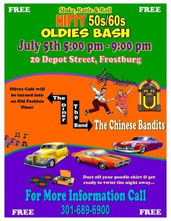 Oldies Bash At The Depot