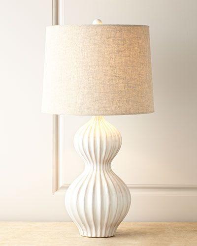 Iota Bulb Lamp White Ceramic Lamps Bedside Lamp Modern Modern Table Lamp