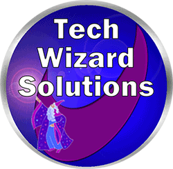 Tech Wizard Solutions Logo Marketing Graphics The Marketing Solutions