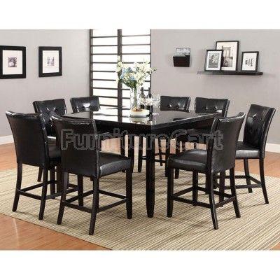 Counter Height Dining Room Sets | Newbridge Counter Height Dining Room Set W/ Anisa Stools Coaster ...